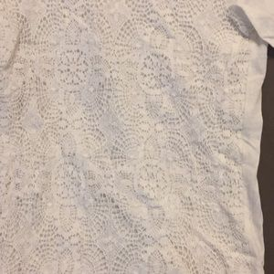 J. Crew Tops - J.Crew women's lace t-shirt
